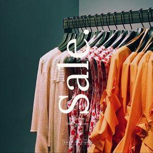 Selling my whole wardrobe!🌞